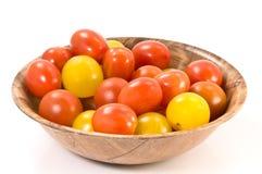De tomaten van de kers Stock Foto