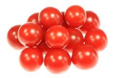 De tomaten van de kers. Stock Foto