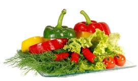 De Tomaten van de Mengeling en van de Kers van de peper stock afbeelding