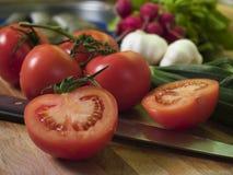 De Tomaten van de wijnstok Stock Fotografie