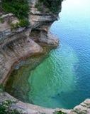 De toneel Grote Meren van Michigan Royalty-vrije Stock Afbeelding