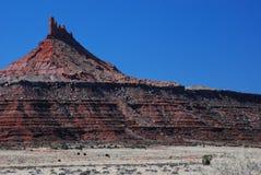 De toneel Top van de Woestijn Stock Foto's