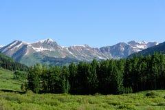 De Toneelschoonheid van Colorado Rocky Mountains Royalty-vrije Stock Fotografie