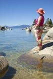 De toneelschoonheid van Tahoe van het meer. Royalty-vrije Stock Afbeeldingen
