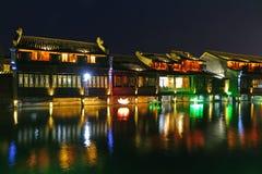 De Toneelstreek van het Wuzhenwesten Stock Foto's
