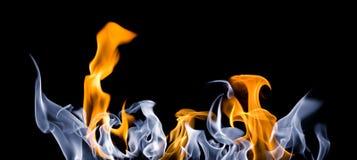 De tongen van de brand Stock Foto
