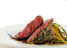 De tonijn van Ahi Stock Foto's