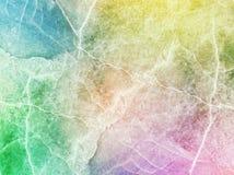 De toon abstract marmeren patroon van de close-upkunst bij kleurrijke marmeren de textuurachtergrond van de steenmuur Royalty-vrije Stock Foto