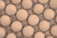 De toon abstracte achtergrond van de pop-artpastelkleur Stock Foto