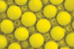 De toon abstracte achtergrond van de pop-artpastelkleur Stock Afbeelding