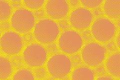 De toon abstracte achtergrond van de pop-artpastelkleur Royalty-vrije Stock Fotografie