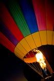 De toorts van de Ballon van de hete Lucht royalty-vrije stock afbeelding
