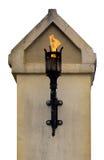 De toorts van de brand royalty-vrije stock afbeeldingen