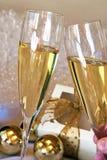 De toost van Champagne Royalty-vrije Stock Fotografie