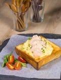 De toost van de mayonaisehoning Royalty-vrije Stock Afbeelding