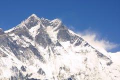 De Top 8000er Lothse van Himalayagebergte Stock Afbeelding