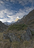 De Top van de berg Stock Afbeelding