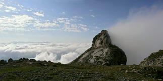 De Top van de Berg van Fisht Stock Foto's