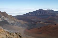 De Top van Haleakala stock fotografie