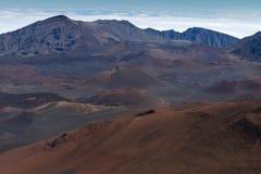 De Top van Haleakala stock afbeelding