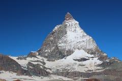 De top van Matterhorn Royalty-vrije Stock Afbeeldingen