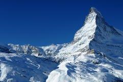 De top van Matterhorn Royalty-vrije Stock Afbeelding