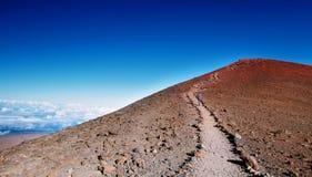 De top van Maunakea royalty-vrije stock foto's
