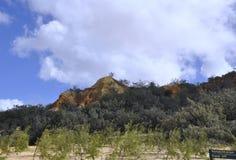 De Toppen, Fraser Island stock foto's