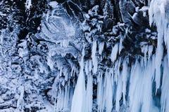 De toppen van een waterval Royalty-vrije Stock Foto's