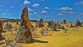De Toppenwoestijn, Australië stock fotografie