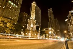 De Toren Chicago van het water Stock Fotografie