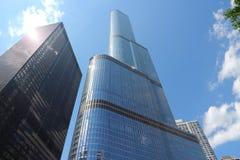 DE TOREN CHICAGO VAN DE TROEF stock fotografie