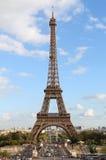De Toren en cityscape van Eiffel royalty-vrije stock afbeelding