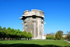 De toren G, Wenen van het luchtafweergeschut stock foto's