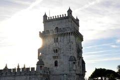 De Toren het Portugees van Belem royalty-vrije stock foto's