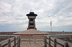 De toren in Kale Brasstown overziet stock foto