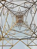 De toren kijkt als ondermening royalty-vrije stock fotografie