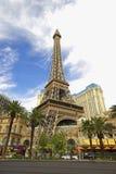De Toren Las Vegas van Eiffel Royalty-vrije Stock Afbeeldingen