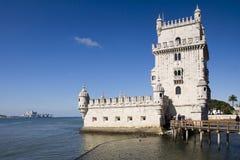 De Toren Lissabon Portugal van Belem Stock Foto
