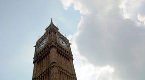 De Toren Londen van de Big Ben Stock Afbeelding