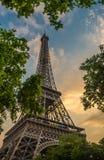 De Toren Parijs, Frankrijk van Eiffel Stock Afbeeldingen