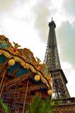De toren Parijs Frankrijk van Eiffel Stock Foto's