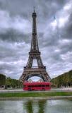 De Toren Parijs van Eiffel Stock Afbeeldingen