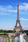De toren Parijs van Eiffel Stock Foto's