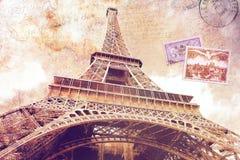 De toren Parijs van Eiffel royalty-vrije illustratie