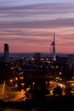 De Toren Portsmouth van de spinnaker Royalty-vrije Stock Foto's