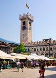 Torre Civica, Trento, Italië Stock Fotografie