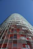 De Toren van Agbar, Torre Agbar in het Spaans Royalty-vrije Stock Foto's