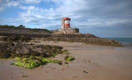 De Toren van Archirondel, Jersey C.I Stock Afbeelding