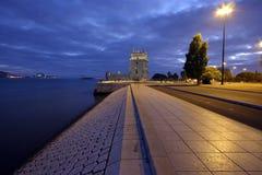 De Toren van Belem Royalty-vrije Stock Foto's